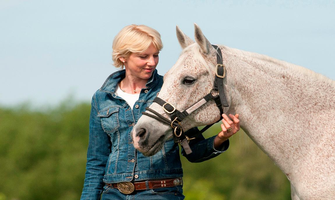 Reittherapie in Berlin Die Pferdefrau